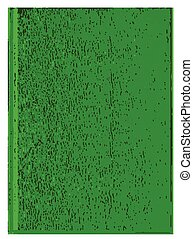 Blank Green Book Cover