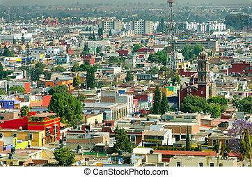 Ciyscape of Puebla