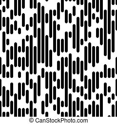 Seamless Lined Paper Background - Vector Line Pattern....