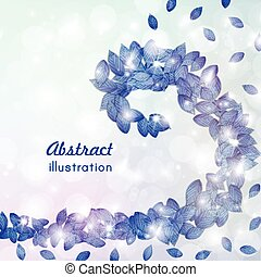 Abstract background illustration - Abstract background with...