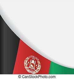 Afghanistan flag background. Vector illustration. -...