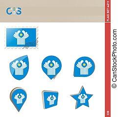 CIS Flag Set, Flag Set