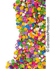 Confetti background - Colorful confetti texture - abstract...