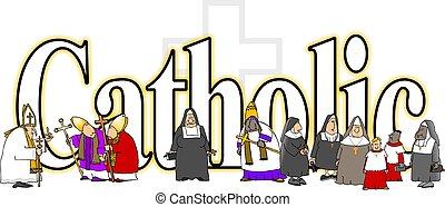 The word Catholic