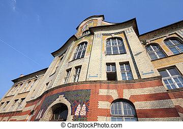 Secession architecture - Bytom, Silesia region in Poland....