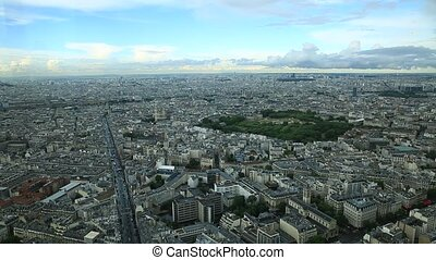 Tour Montparnasse Paris - Tour Montparnasse time lapse in...
