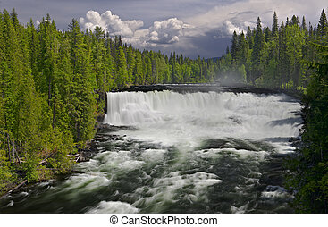 Dawson Falls - High dynamic range impression of Dawson Falls...