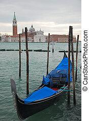 Scene in Venice, Italy