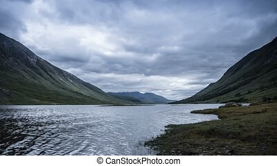 Time Lapse, The Beautiful Loch Etive, Scotland. James Bond...