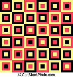 56-13-8 - Seamless Square Pattern. Vector Regular Texture