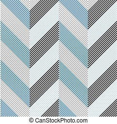 Seamless ZigZag Pattern. Abstract Background. Vector Regular...