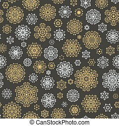 Christmas and New Year seamless pattern. EPS 10 vector