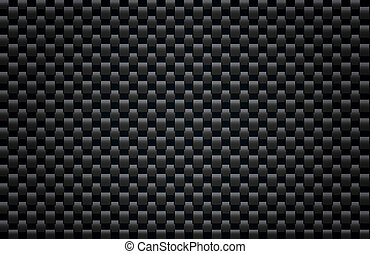 Carbon Fiber Texture - Square pattern illustration...