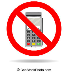 Ban credit card payment. Forbid transaction finance with...