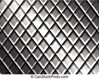 Abstract Metal Mesh Surface