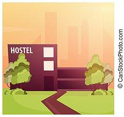 ゲスト, ホテル, 家, 旅行, 建物, ホステル
