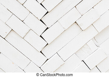 The gray brick building material for sale in shop