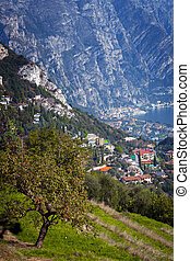 Limone sul Garda - beautiful view of the famous town Limone...