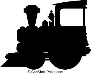 Train Silhouette
