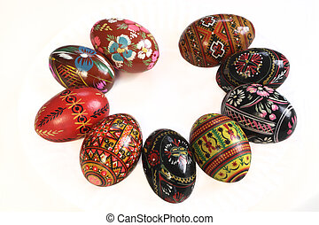 Ukrainian Easter Eggs Decorated
