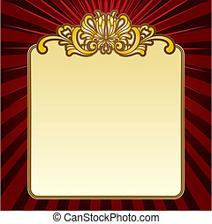 gold decorative border