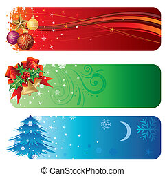 christmas background - vector illustration of christmas...