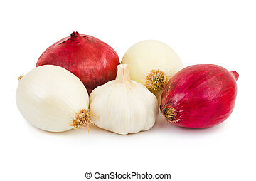 Shallot and garlic