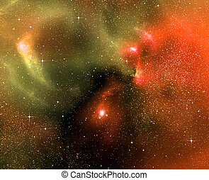 starry background of deep outer space - starry background of...