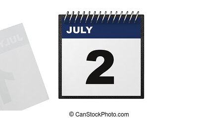 Independence day calendar concept - Independence day...