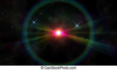 deep in space super nova