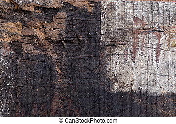 wood aged weathered rough grain surface texture background -...