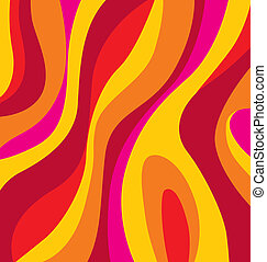Wallpaper, background - Seventies vector wallpaper or...