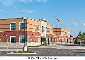 New Canadian Elementary School Building - A new Canadian...