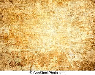 Worn canvas background. - Old worn crackle canvas...