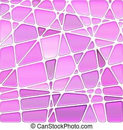 abstract vector stained-glass mosaic background - light...