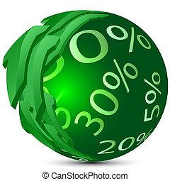 Sphere percent
