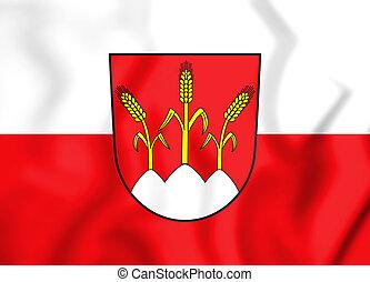 Wappen_von_Dinkelsbühl - 3D Flag of Dinkelsbuhl (Bavaria),...