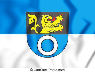 Wappen_Schwetzingen - 3D Flag of Schwetzingen...