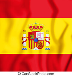 Spanish_Presidential_Flag - 3D Spanish Presidential Flag. 3D...