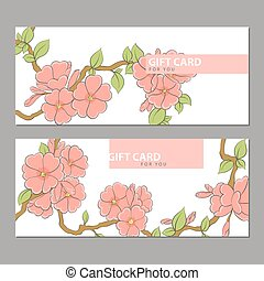 Bright flowers on a light background - Flower pattern on a...