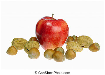 apples with nuts 01