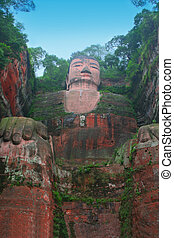 Leshan Giant Buddha, Sichuan, China
