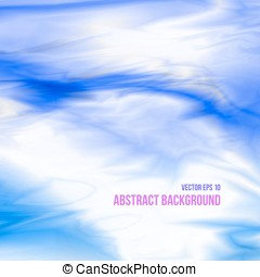 Abstract sky background in blue colors