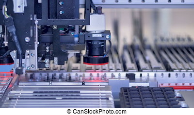 Electronic circuit board production on modern automated...