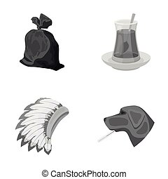 rest, ecology, animals and other web icon in monochrome style. thermometer, illness, hamlet icons in set collection.