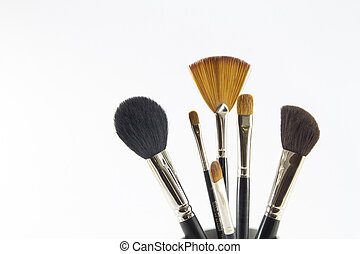 Professional make-up brushes - Set of professional make-up...