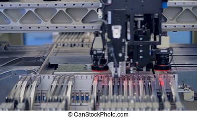 Automated Producing of Printed Circuit Board. 4K. -...