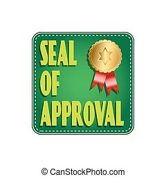 Seal Of Approval Label