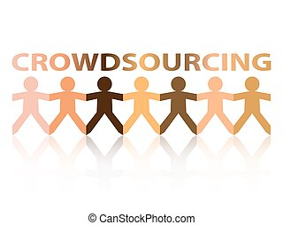 Crowdsourcing Paper People - Crowdsourcing cut out paper...