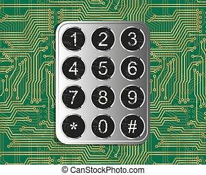 Keypad On Circuit